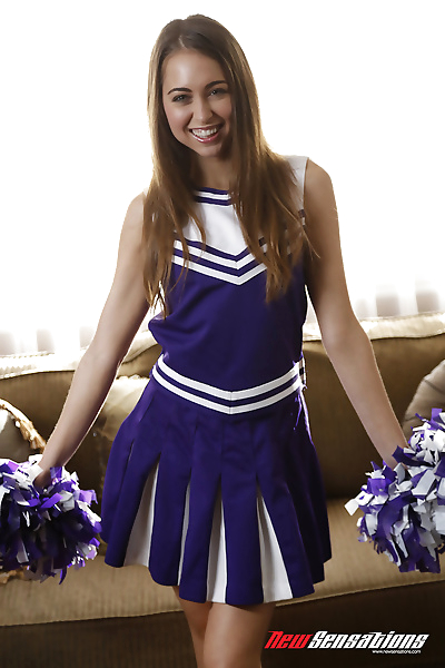 Teen cheerleader Riley Reid..