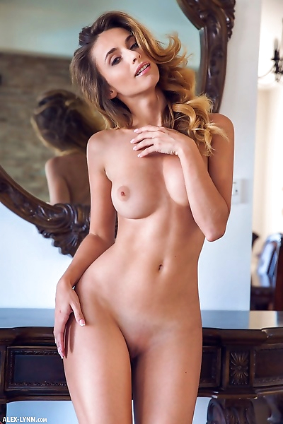 Nude model Cara Mell takes..
