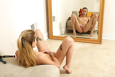 Teen first timer Haley Reed..
