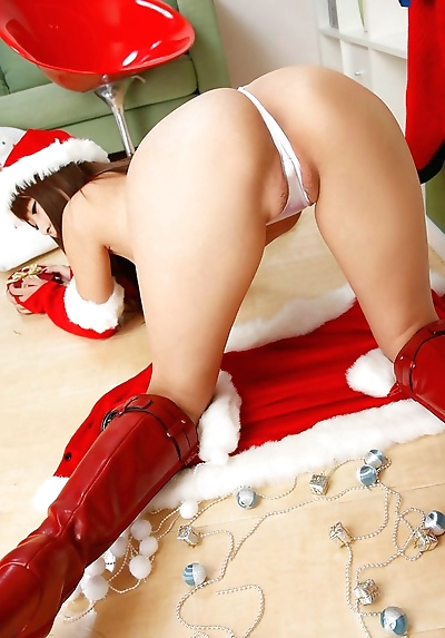 Christmas asian tits of..